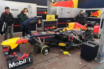 Red Bull Racing F1 car wows Newry