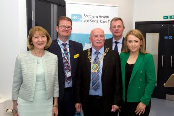 Permanent Secretary officially opens Daisy Hill's new Direct Assessment Unit