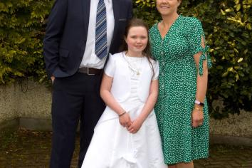 St Peter's First Holy Communion
