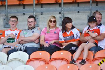 Armagh supporters back on busy weekend of GAA caught on camera