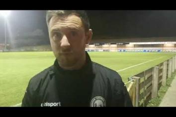 REACTION: Heartbreak for Warrenpoint Town in League Cup