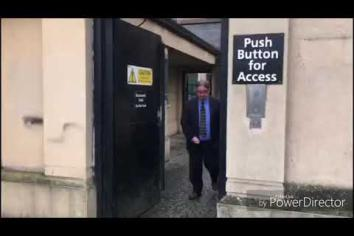 Stephen Philpott leaves Newry Crown Court