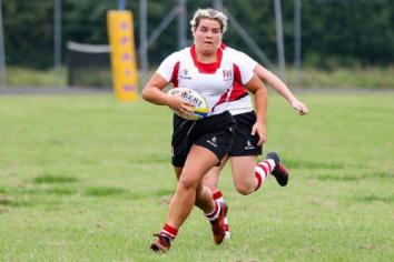 Rugby ace Emma vows to 'come back stronger'