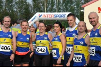 Duddy and Aine excel in Oktoberfest 5K