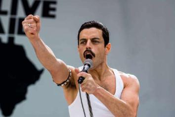 Malek delivers Killer Queen performance