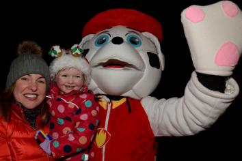 Hilltown lights up for Christmas