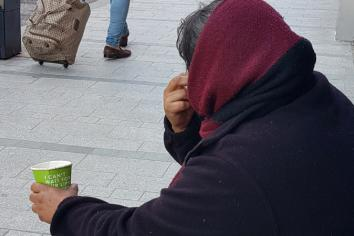 Concerns over on-street begging in Newry City