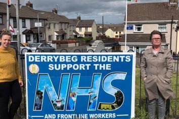 """""""Faceless vandals don't represent Derrybeg"""""""