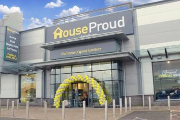HouseProud Furnishings open store No 10