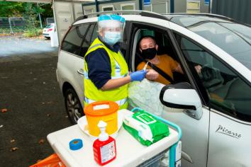 New drive through blood testing service