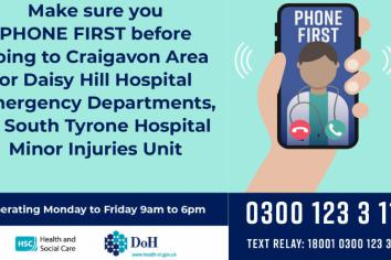 Phone First for urgent care