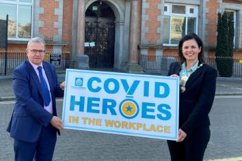 Celebrating NMD Covid Heroes in the workplace
