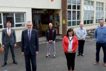 GAA President's First Visit to Armagh