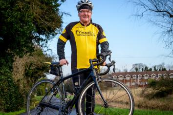 Dr McAleer calls on people to get on their bike for Friends of the Cancer Centre