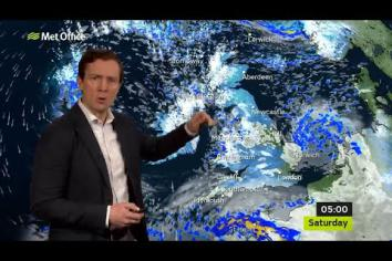 Met Office Weather Warning for SNOW & ICE