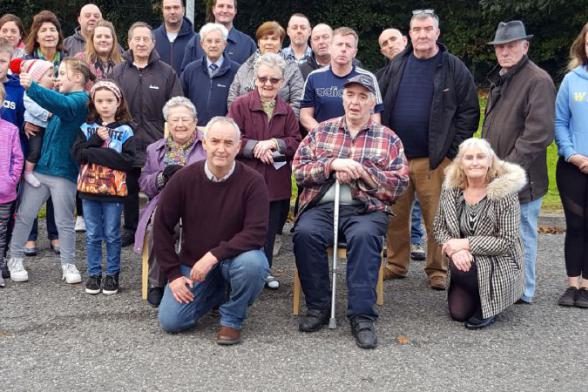 Community group opposed to development